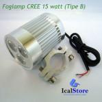Foglamp CREE 15 watt Fokus (Tipe B)