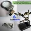 Alat Pegangan Solder Lengkap Kaca Pembesar dan LED