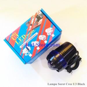 Lampu Sorot LED CREE U3 Outdoor – Tiga Mode Nyala