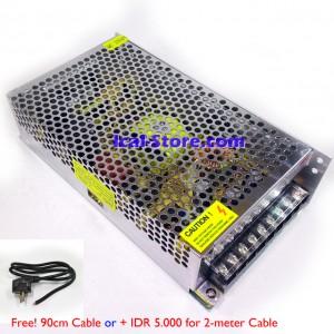 Power Supply 12 Volt 20 Ampere (Bonus Kabel)