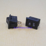 Saklar Switch Kotak Hitam 2 Pin On Off