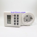 Stop Kontak Timer Digital Antel