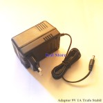 Adaptor / Power Supply DC 9V 1A Trafo Stabil