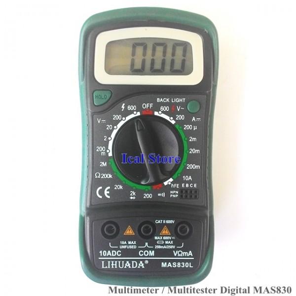Multimeter Digital MAS830 1