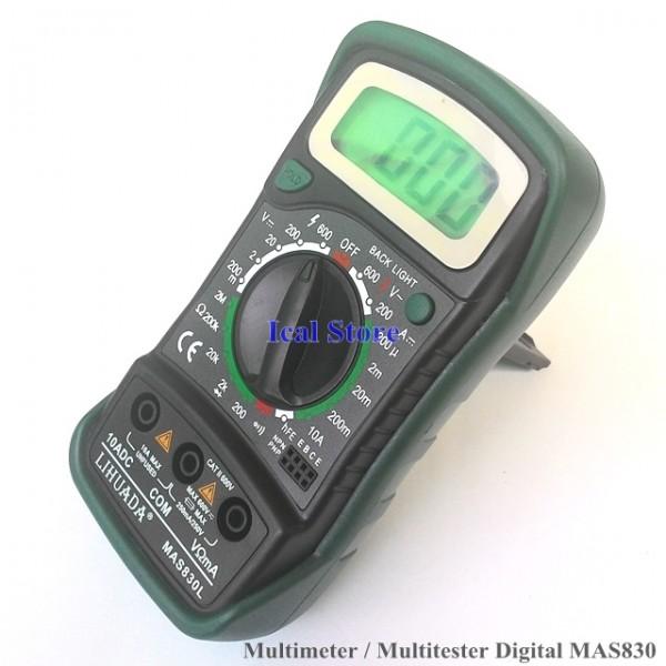Multimeter Digital MAS830 2