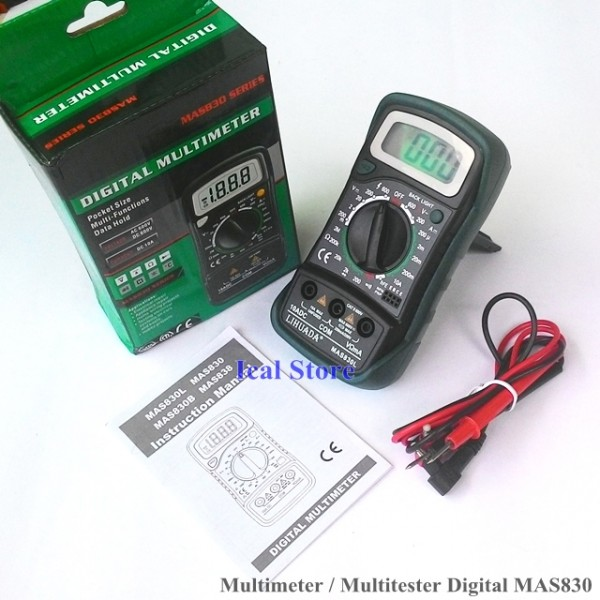 Multimeter Digital MAS830