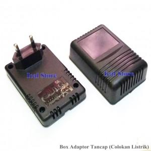 Kotak Case Adaptor Hitam Tancap