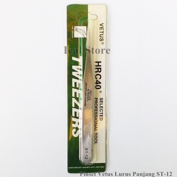 Pinset Vetus Lurus ST-12 1