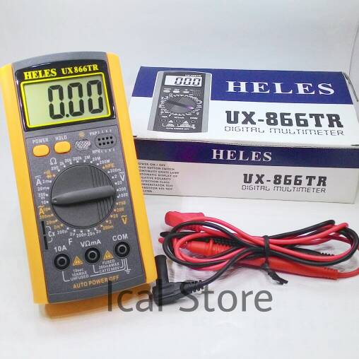 Multimeter Digital Heles 866TR
