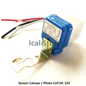 Sensor Cahaya (Photo Cell) 12 Volt DC 10A
