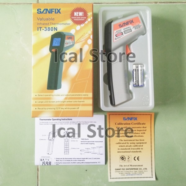 Infrared Thermometer Sanfix IT-380N 5