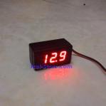 Mini DC Voltmeter LED Casing Waterproof