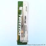 Pinset Vetus Tweezers Lurus Runcing ST-10 Stainless Steel