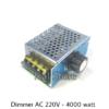 Dimmer AC 220V 4000W